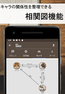 ストーリープロッター   - 小説、マンガ、映像の脚本をネタから作れる創作アプリのおすすめ画像4