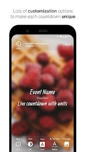 Time Until   Beautiful Countdown App + Widget 3.3.0 Screenshots 6