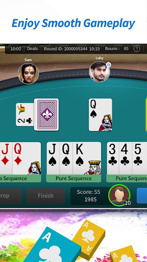 Color Rummy - Free Online Card Game Indian Rummy 1.23 screenshots 4