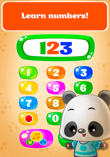Babyphone - baby music games with Animals, Numbers  screenshots 6