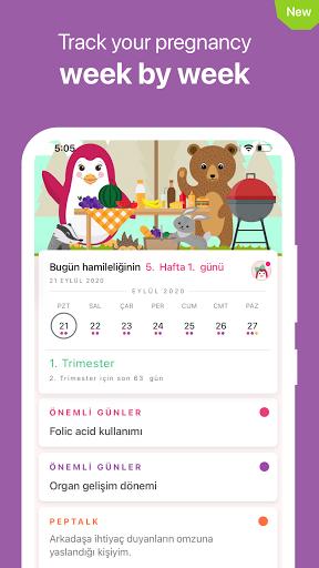 Pepapp Period Tracker & Menstrual Cycle Calendar  Screenshots 5