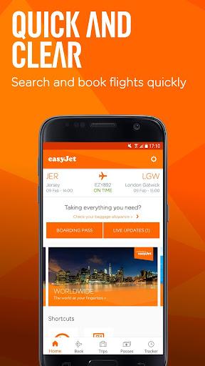 easyJet: Travel App  Screenshots 1