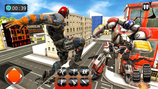 US Robot Flying Car Tansform 3D Game