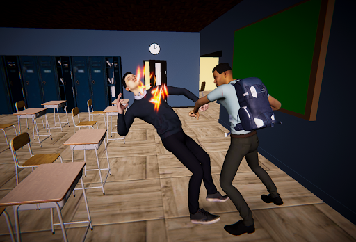 Bad Guys Fight at School 1.4 screenshots 1