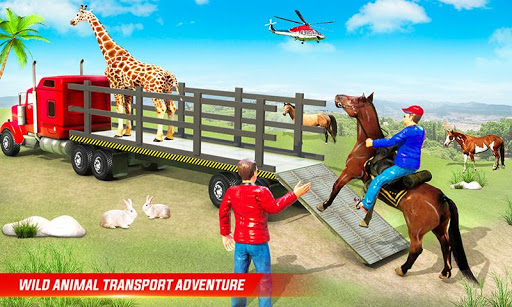 Farm Animal Transport Truck Driving Simulator 26 Screenshots 2