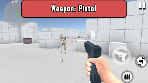 Zombie Skeleton War: Gun Shooting Game 3.4 screenshots 5