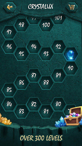 Crystalux. New Discovery - logic puzzle game  screenshots 4