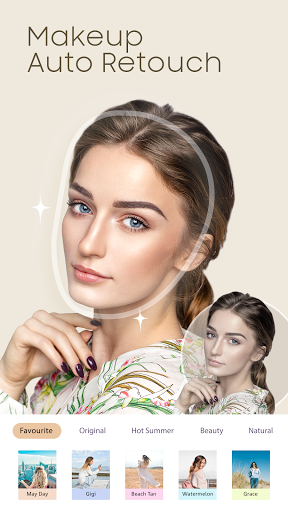 YuFace: Makeup Camera, Makeover Face Editor Magic  screenshots 1