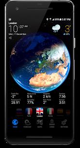 3D EARTH PRO – local weather forecast & rain radar 1