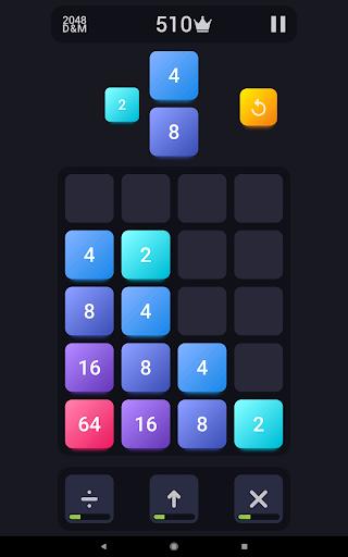 2048: Drop And Merge 1.3 screenshots 4