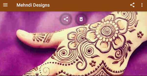 Mehndi Designs (offline) Screenshot
