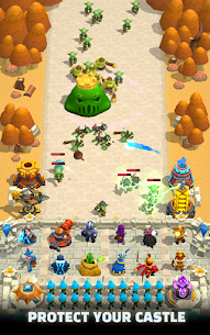 Wild Castle TD: Grow Empire Tower Defense 1.0.7 Android Mod + APK + Data 1