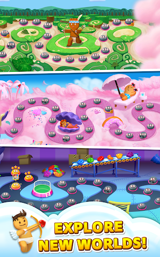 Sweet Road: Cookie Rescue Free Match 3 Puzzle Game screenshots 14