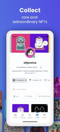 OpenSea: NFT marketplace screenshots 4