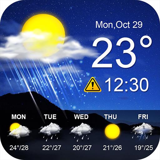 Pronóstico del Tiempo y Radar Local - Nuts Clima