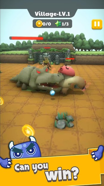 Monster Kick - Casual Soccer screenshot 4