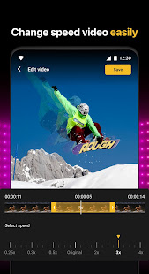 Slow motion - Speed up video - Speed motion 1.0.64 Screenshots 8