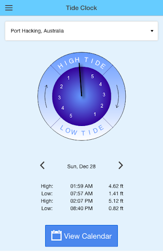 Tide Clock Free Apk 1