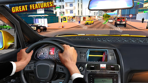 Télécharger Pro Taxi Driver : City Car Driving Simulator 2021 mod apk screenshots 3