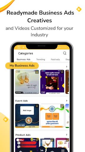 AdBanao -Festival Poster, Banner & Video Maker App android2mod screenshots 2