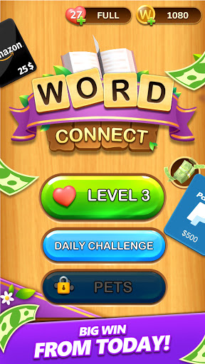 Word Connect - Lucky Puzzle Game to Big Win  Screenshots 2