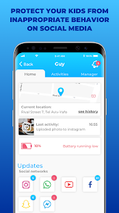 Parental Control & Screen Time App - FamilyKeeper FK-9.8.2 Screenshots 3