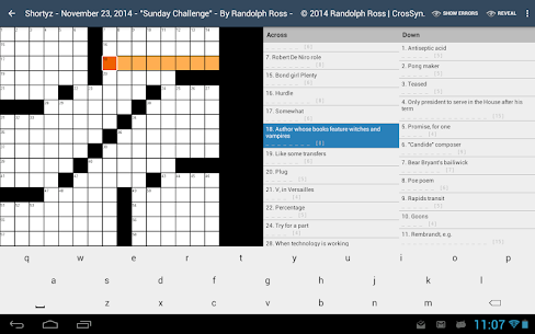 Free Shortyz Crosswords 5