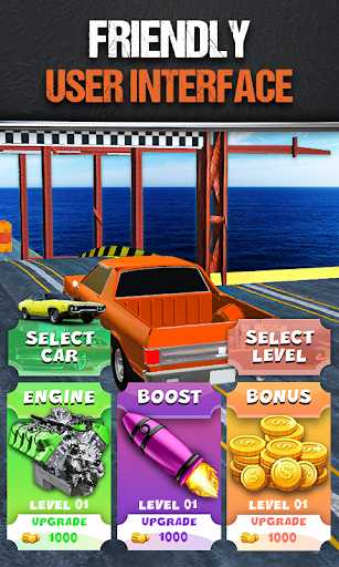 Mega Stunt Ramp Car Crasher Jumping Free Game 2021 1.4 screenshots 2