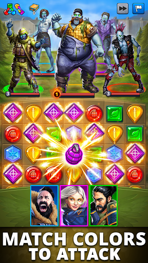 Puzzle Combat: Match-3 RPG Apkfinish screenshots 3