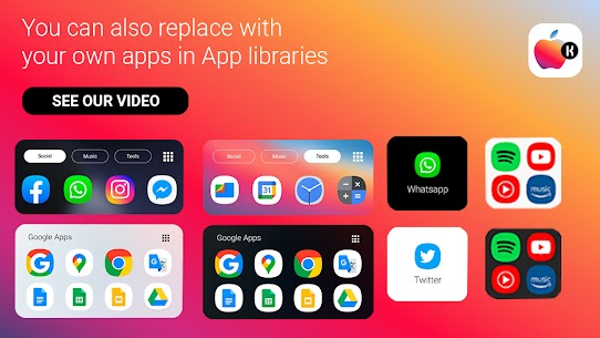 iOS Widgets KWGT🔥 (MOD APK, Paid) v2021.May.19.21 3