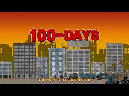 100 DAYS - Zombie Survival Screenshot