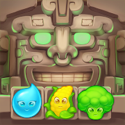 JungleMix Match-3 Game Puzzles