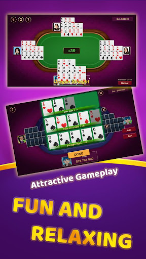 Chinese Poker Offline 1.0.6 screenshots 3