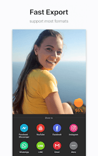 Video Maker Video Editor Clipvue Mod Apk- Cut, Photos (VIP Activated) 5