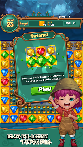 Jewels fantasy:  Easy and funny puzzle game 1.7.2 screenshots 4