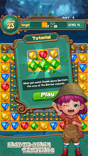 Jewels fantasy: Easy and funny puzzle game 1.7.2 Apk + Mod 4
