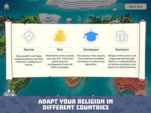 God Simulator. Sandbox strategy game Religion Inc. 1.1.79 screenshots 18