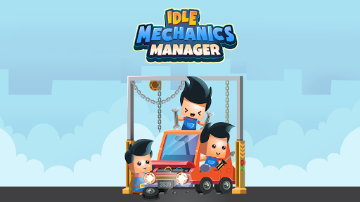 Idle Mechanics Manager – Car Factory Tycoon Game 1.29 screenshots 1