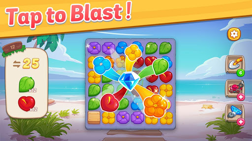 Ohana Island: Blast flowers and build 1.5.9 screenshots 5
