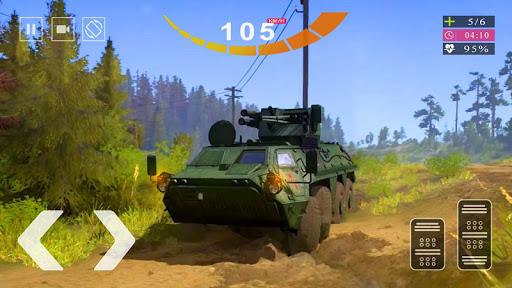 Army Tank Simulator 2020 - Offroad Tank Game 2020  screenshots 4