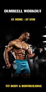 Dumbbell Home Workout – Bodybuilding Gym Workout (PREMIUM) 1.31 Apk 1