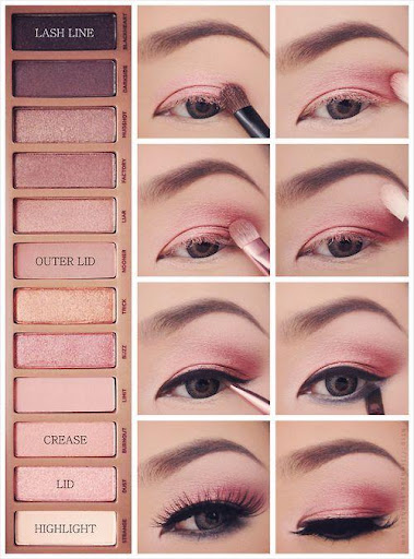 Step by step makeup (lip, eye, face) ud83dudc8e screenshots 9