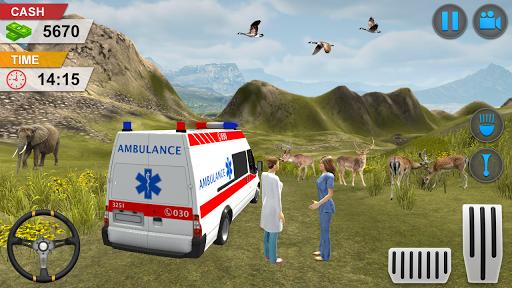 Emergency Ambulance Game - New Games 2020 Offline 1.1.14 screenshots 6