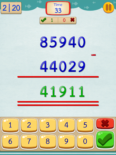 Math Fast Plus and Minus screenshots 18
