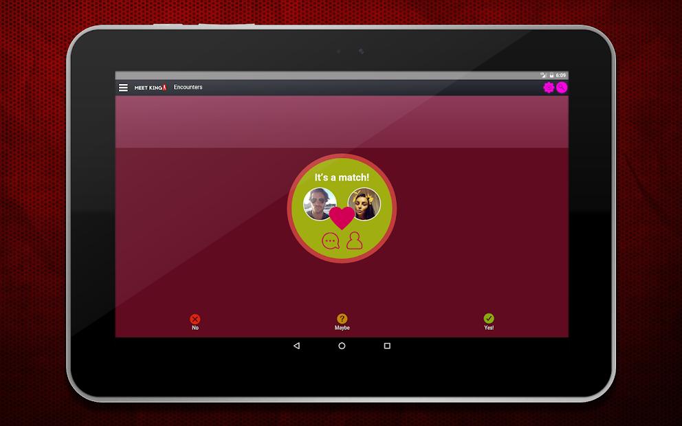 Captura de Pantalla 14 de Citas de adultos - MeetKing para android