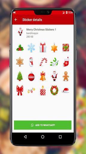 Christmas Stickers 2020 for Whatsapp 2.0 Screenshots 3