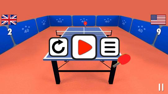 Masa tenisi 3D Apk Son Sürüm 2021 4