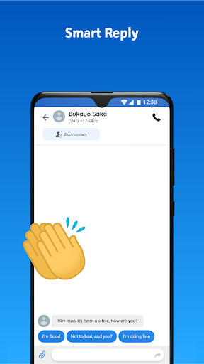 Messenger Home - SMS Widget and Home Screen android2mod screenshots 4