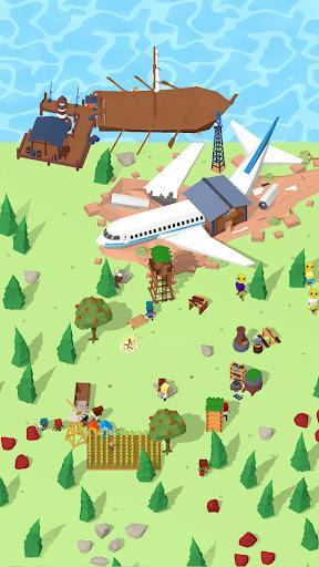 Isle Builder: Click to Survive apkdebit screenshots 4