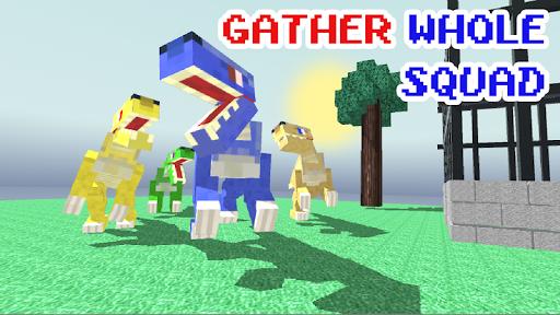 Blocky Dino Park: Raptor Attack  screenshots 1